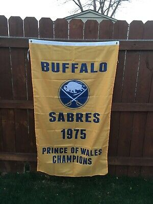 Buffalo Sabres 1975 Prince Of Whales Champions 3' X 5'