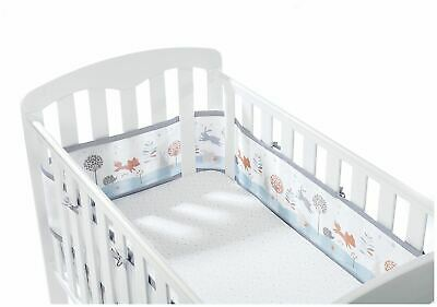 Breathable Baby MESH CRIB LINER 4 SIDED TINY TATTY TEDDY Baby Child BN