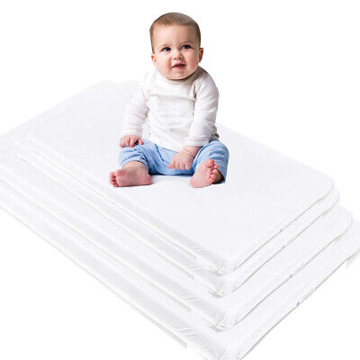 Custom Size Baby Crib Mattress - Fits Any Small Baby Bed - Firm Breathable Foam