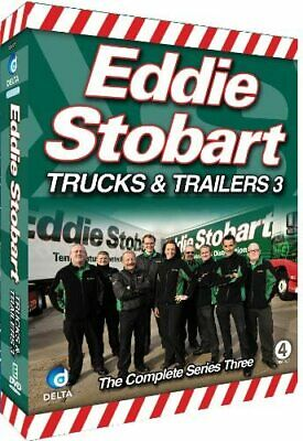 Eddie Stobart Trucks and Trailers Complete Series 3 (4 DVD SET) BRAND NEW SEALED