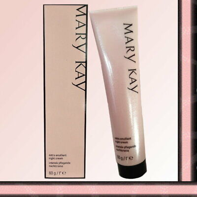Mary Kay Extra Emollient Night Cream    (2 PACK)  NEW  FREE SHIPPING