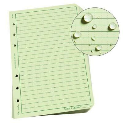 RITE IN THE RAIN 982 Universal Grid Loose Leaf 4-5/8 x 7 100 Sheets Woodland