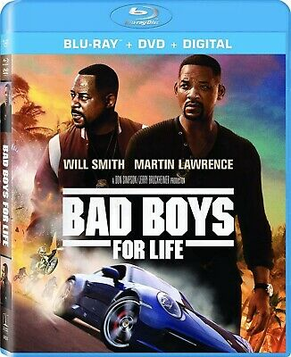 Bad Boys For Life(Blu-Ray+Dvd+Digital)W/Slipcover Free Shipping