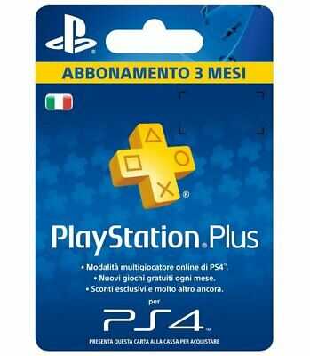 Console - Accessories - PLAYSTATION 4: Subscription 3 Months
