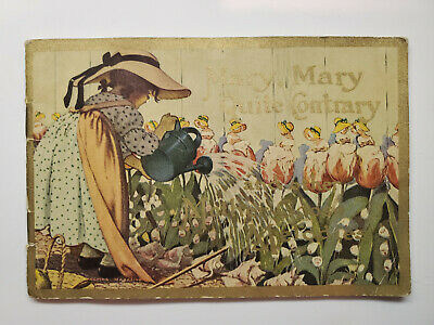 Antique Colgate Ad Mary Mary Quite Contrary and other Mother Goose Melodies