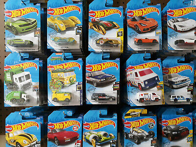 2020 Hot Wheels Brand New J and K CASE - 40% off 4 or more!!