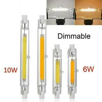 UK 5x Dimmable 6W//12W R7s COB LED Security Flood Light Replaces Halogen Bulb Kit