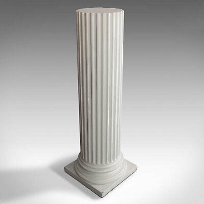 Vintage Doric Column, Architectural, Plaster, Classical – Multiple Available