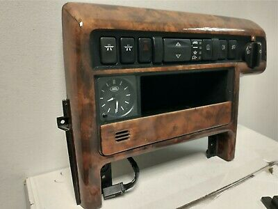Range Rover P38 ORIGINAL WALNUT MAIN DASH CONSOLE.