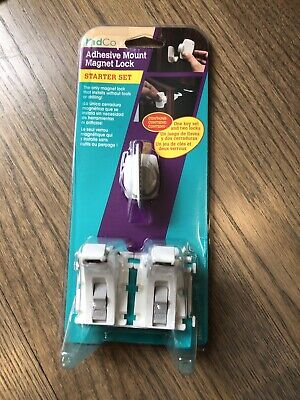 NEW!!! KidCo Adhesive Mount Magnet Lock Starter Set