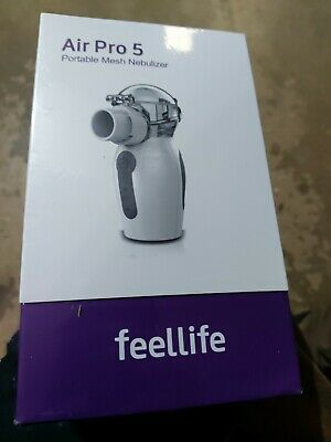 FeelLife Portable Mesh Ultrasonic Inhaler Air Pro 5 Brand New