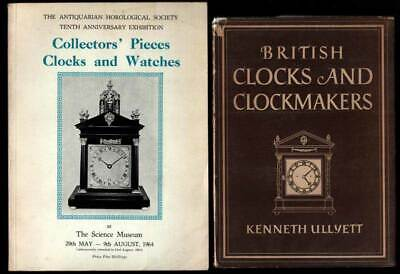 3 British Books: CLOCKS & CLOCKMAKERS 1947 & COLLECTORS' PIECES CLOCKS & WATCHES