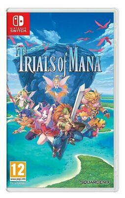 Trials of Mana Switch  New in stock