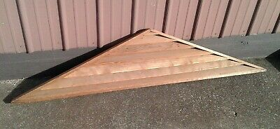 Antique Wooden Roof Peak Gable Louver Air Vent