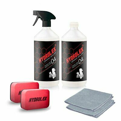 Hydrolex Car Paint Protection kit Ceramic Sealant 2 x 500ml with accessories