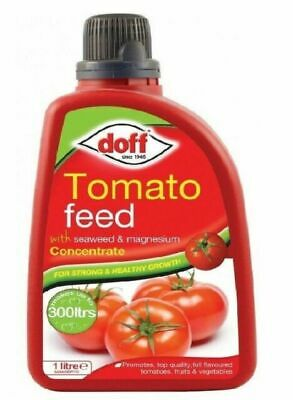 Doff Tomato Feed Fertiliser Seaweed & Magnesium Concentrate For Strong Growth