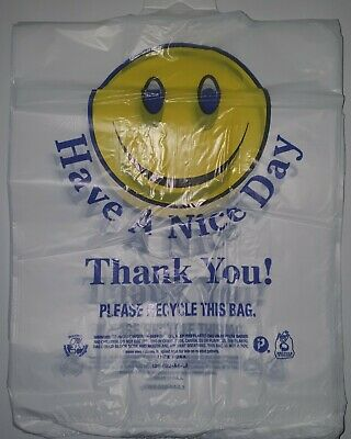 Generic HDSML Have a Nice Day! & Thank You! Plastic Bags Qty 500