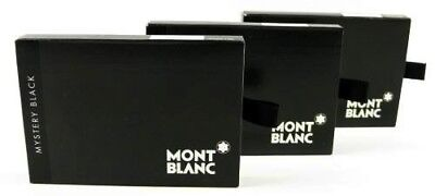 Montblanc 24 Cartouches d'encre Mystery Black