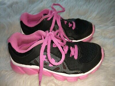 Under Armour Kids Hot Pink/Black Sneakers Sz. 11K KIDS ATHLETIC WEAR GIRLS