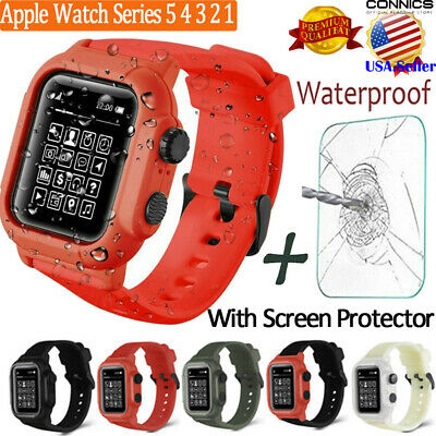 Apple Watch Series 5 4 Armor Case Band 44/42mm Rugged Full Body Protective Cover