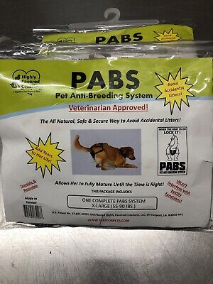Dog Pregnancy Prevention Harness (Size X-Large 50-90lbs) NEW