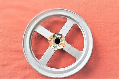 "TB WOOD/'S AK3958 5//8/"" Fixed Bore 1-Groove Standard V-Belt Pulley 3.75/"" OD"