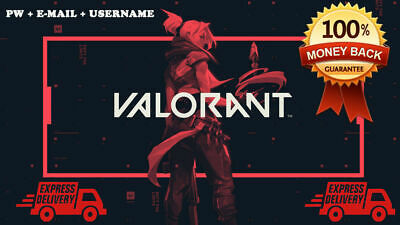 Valorant Account EU Beta | Instant Delivery | FRESH and NEVER used!