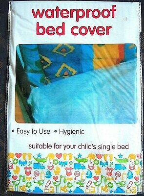Waterproof Bed Sheet/Cover Childs Single Bed Hygienic 200 X 100Cm Approx.