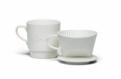 Carhartt WIP X' Kalita Wave Dripper Set 185, Ceramic, Cream