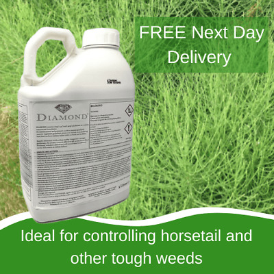 Kill Horse Mares Tail Diamond Weedkiller 5L Replaces Pearl