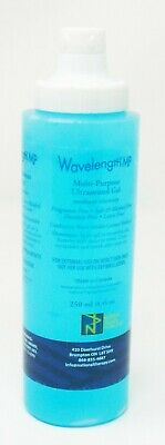 Wavelength MP Multipurpose Ultrasound Gel EXP 12/22 12-250 ml Bottles