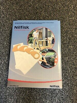Nilfisk ALTO Buddy Vacuum Cleaner Dust Bags 81943048