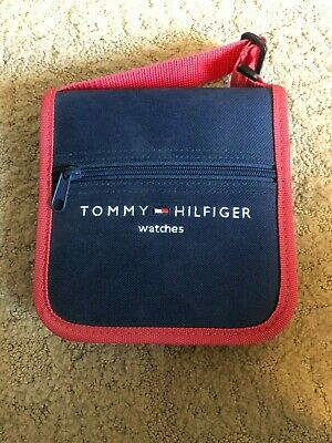 Vintage Tommy Hilfiger Watches CD Compact Disc Handheld Travel Case
