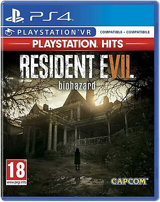 Resident Evil 7 (Hits) Ps4 Gioco Nuovo Sigillato Italiano Playstation 4 Sony Dvd