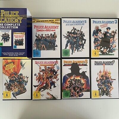 Police Academy - The Complete Collection (Box Set / 7 Discs) (2004) DVD