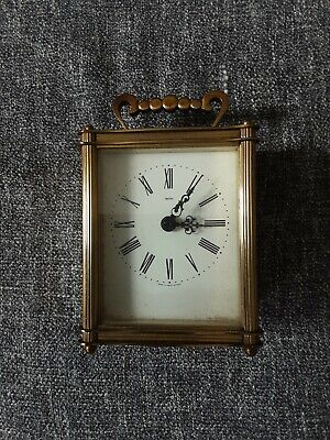 Smiths Vintage Carriage Mantle Clock