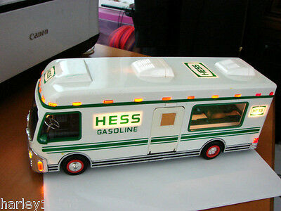 Hess Gas Hauler Bus 1998 Lights Up!! Pre Owned & Great Cond!! Everything Works