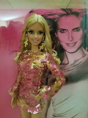 HEIDI KLUM Barbie Doll Blonde Ambition 50th Anniversary 2009 Limited Edition