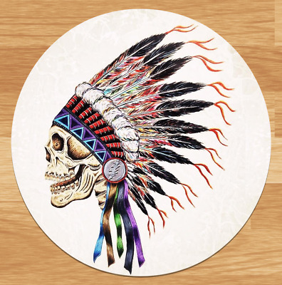 Grateful Dead Indian Chief High-quality Premium Sticker Decal 3'' Jerry Garcia