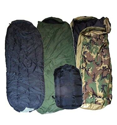 US Military Genuine Issue Complete 4 Piece Modular Sleeping Bag System