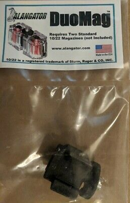 Alangator DuoMag Magazine Connector for Ruger 10/22 22lr BX-1 Magazines - NEW