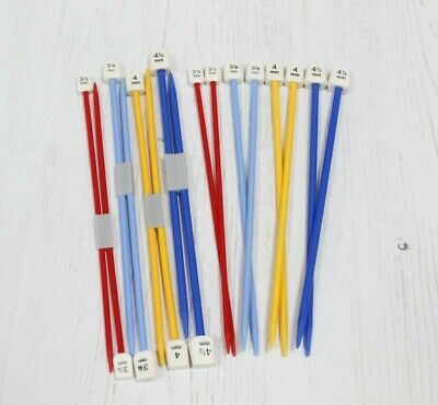Children's Knitting Needles Whitecroft Essentials Short Knit Pins 18cm x 4 Sizes
