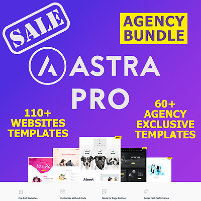 Astra PRO AGENCY BUNDLE for Astra Theme SALE | Latest Version | Lifetime Update