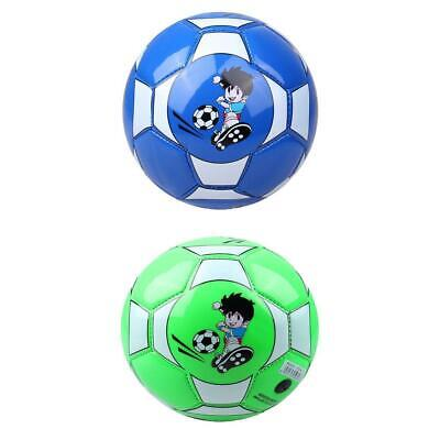 """2Pcs PU 6"""" Toddlers Children Sports Football Cute Soccer Outdoor Pools Ball"""