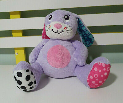 Playgro Purple Rabbit Plays Rock A Bye Baby 20Cm Tall