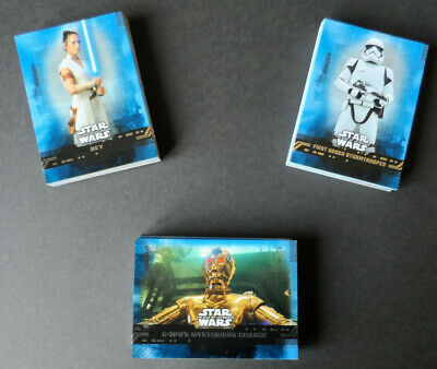 Topps Star Wars The Rise Of Skywalker Complete 99 Blue Parallel Card Set