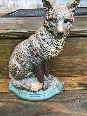 Antique Cast Door Stop 12 Inches Tall