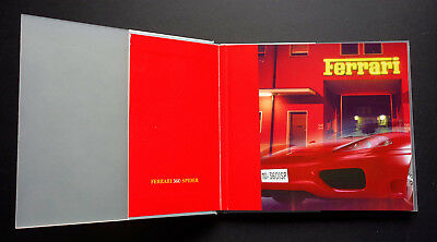 Ferrari Geneva 2000, Booklet, Presskit + CD, 360 Spider and Ferrari Model range