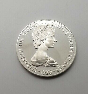 JUNO FEBRUA British Virgin Islands Coin $1 2012 UNC The Goddess of Fertility