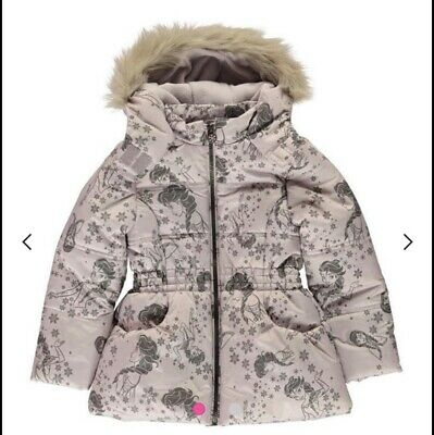 Genuine Disney Frozen House of Fraser Padded Coat Infant Girls 7-8 Yrs